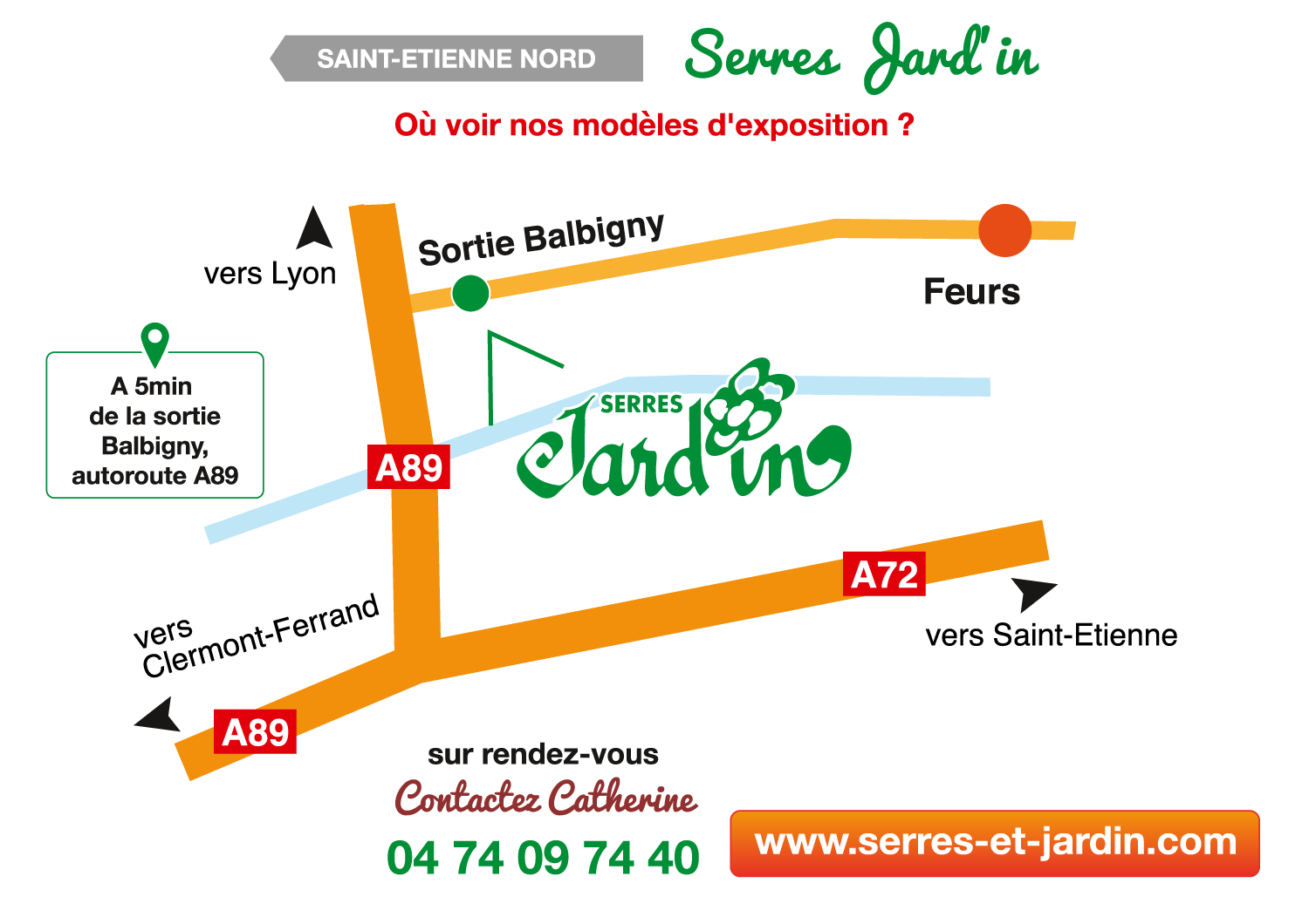 Showroom Serres Jard'in
